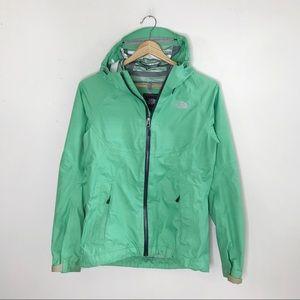The North Face Mint Green Lightweight Rain Jacket